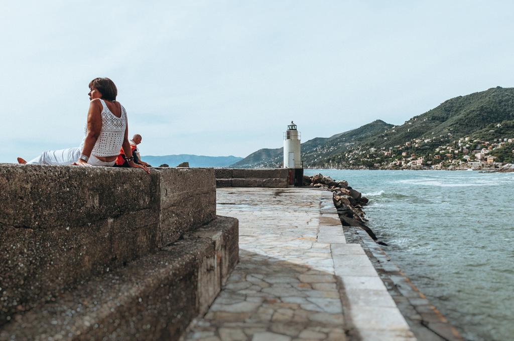 Camogli Włochy ciekawe miejsce na plener fotograficzny
