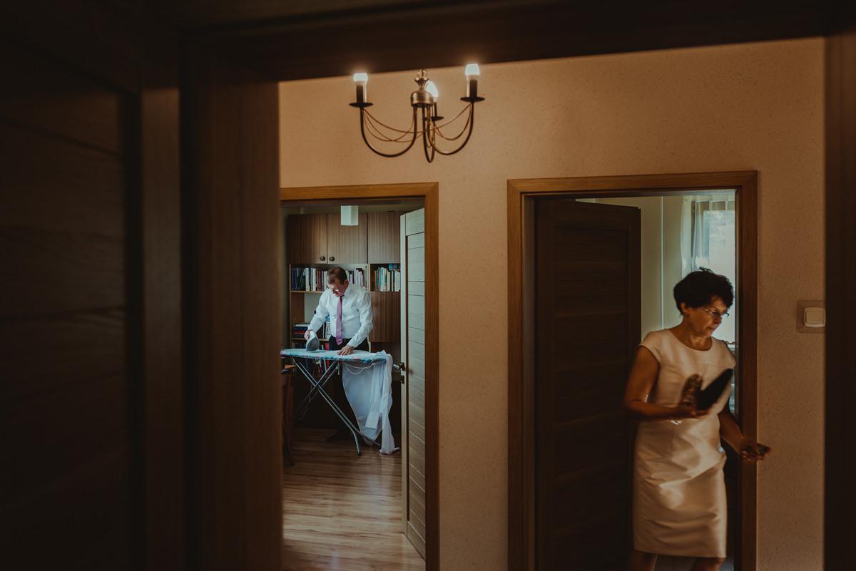ślub przygotowania w domu