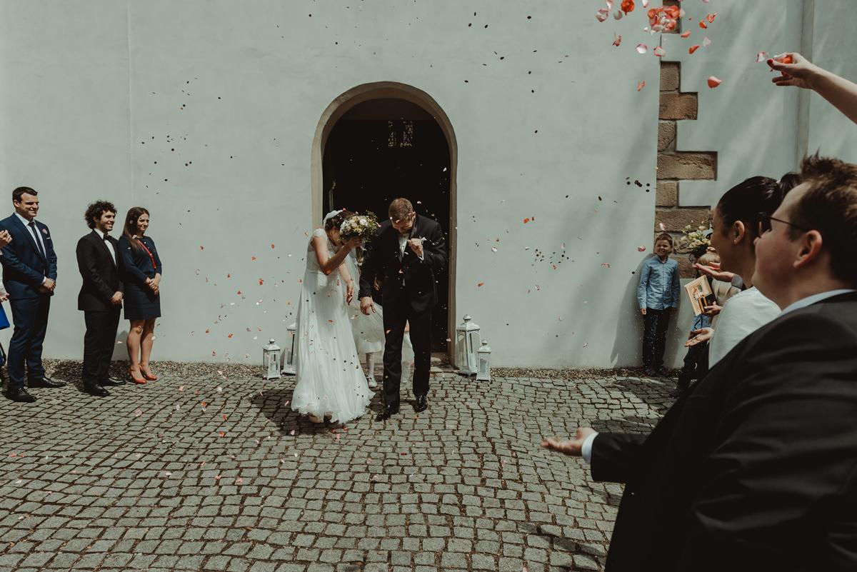 ślub w kościółku akademickim Rybnik