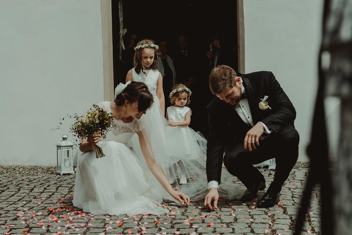 ślub w kościele akademickim w Rybniku