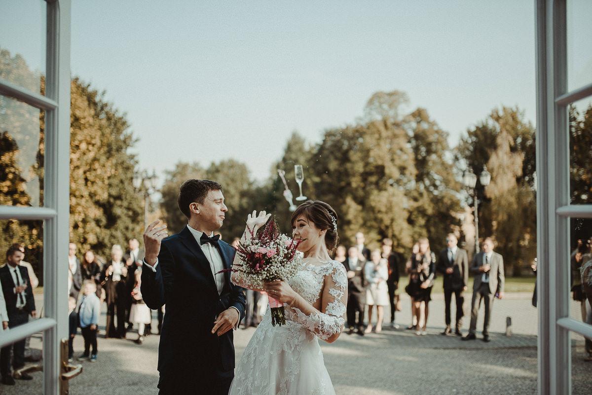 przyjęcie ślubne pałac Radziwiłłów Balice