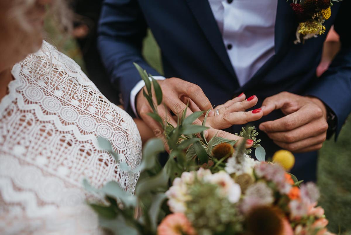 przysięga na ślubie plenerowym