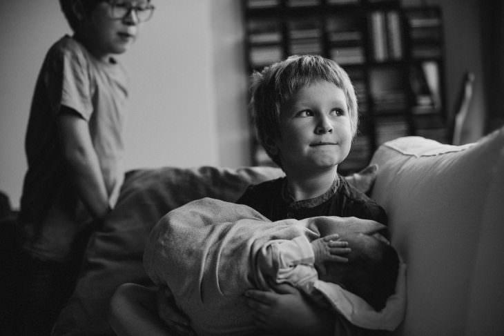 Franek, Kajtek i Florka w roli głównej. Sesja rodzinna. 1