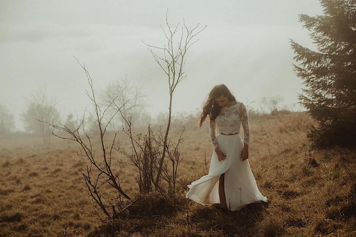 Plener ślubny w Beskidach