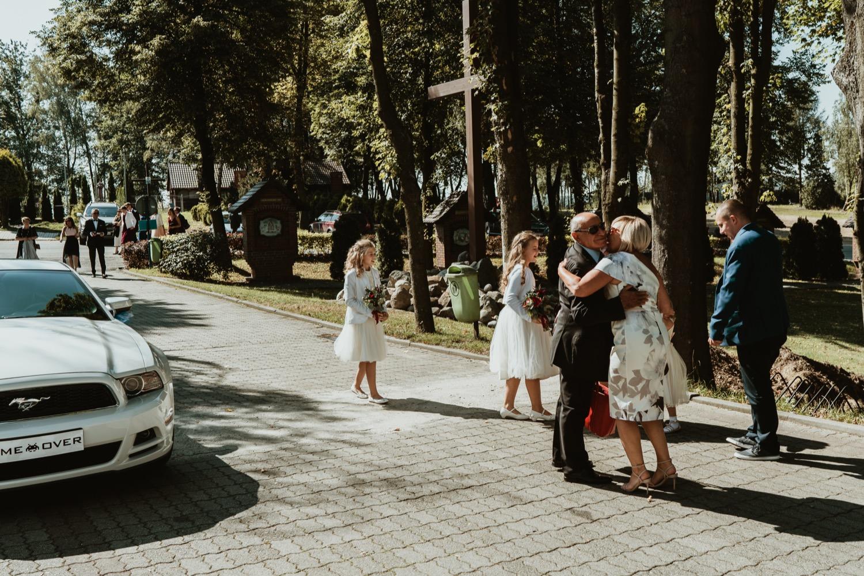 Ślub w Sanktuarium Matki Bożej Fatimskiej w Mszanej