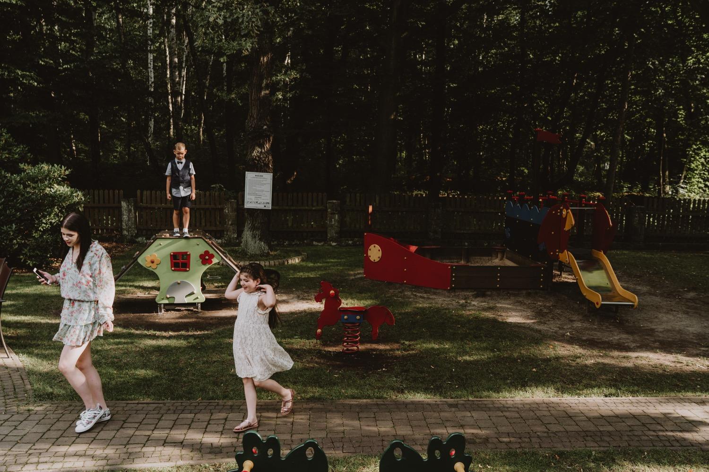 Wesele w parku śląskim